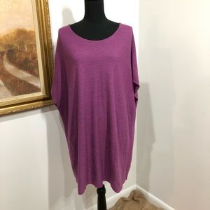 Eileen Fisher oversized tunic | size L